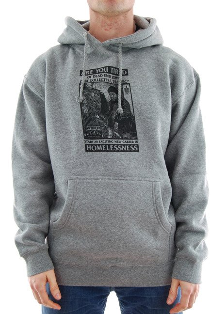 Bluza Antihero - Help Dept. Hoodie Gunmetal Heather