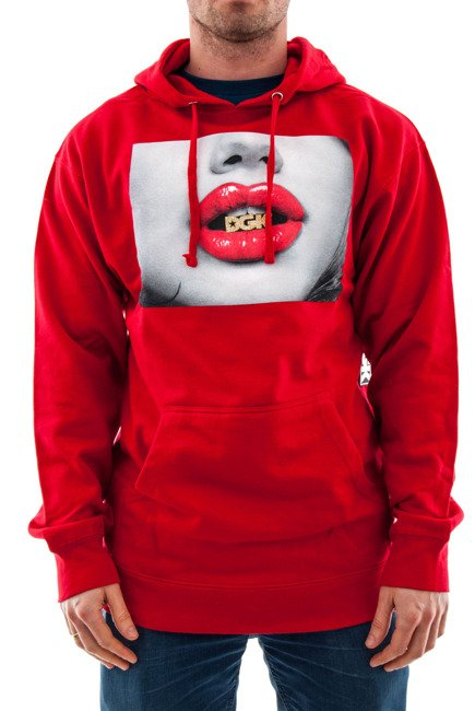 Bluza DGK - Kiss red