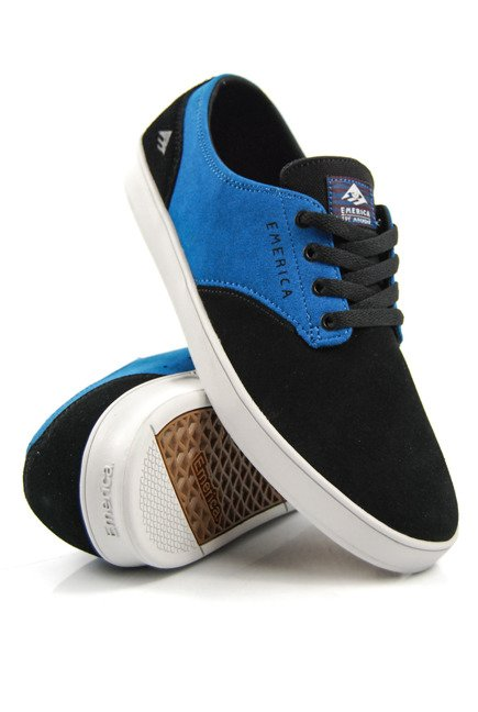 Buty Emerica x Toy Machine - The Romero Laced Black/Turquoise