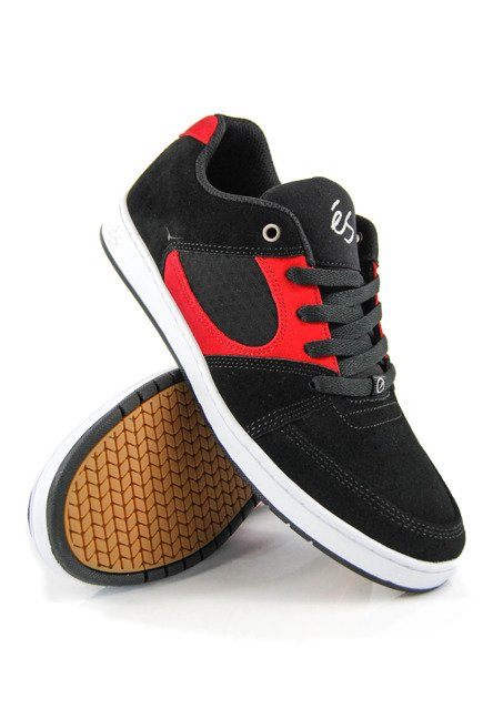 Buty éS  -  Accel Slim black/red