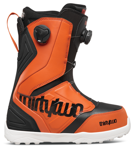 Buty snowboardowe ThirtyTwo - Lashed Double Boa Black/Orange