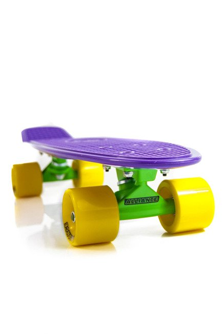 Cruiser Alliance 01 Purple/Yellow/Green