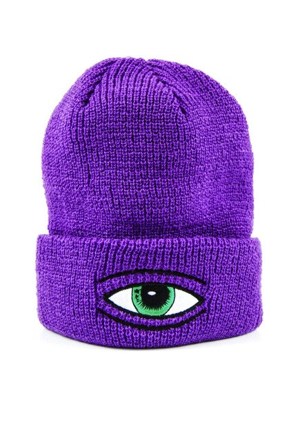 Czapka Toy Machine - Sect Eye Purple
