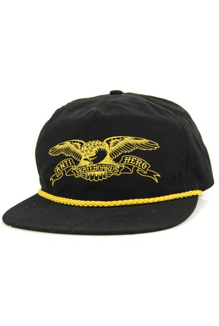 Czapka z daszkiem Antihero - Basic Eagle Snapback Black/Gold