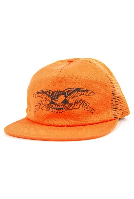 Czapka z daszkiem Antihero - Basic Eagle Trucker Orange/Black