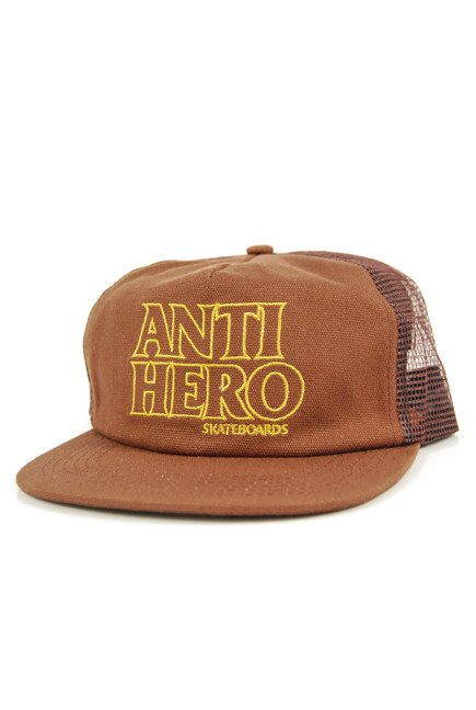 Czapka z daszkiem Antihero - Black Hero Out Trucker Brown