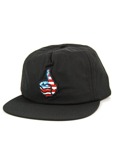 Czapka z daszkiem Toy Machine - Unstructured Snapback Black