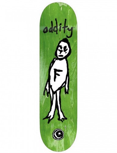 Deck Foundation - Oddity green