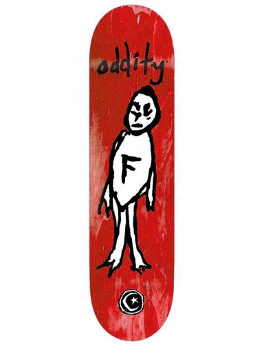 Deck Foundation - Oddity red