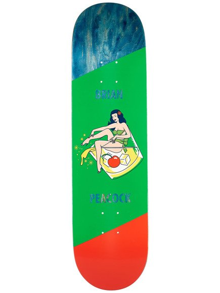 Deck Primitive - Peacock Pin Up