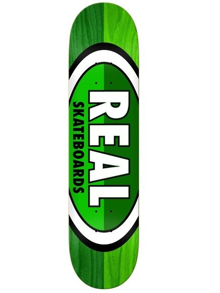 Deck Real - 50-50 Oval Green/Green