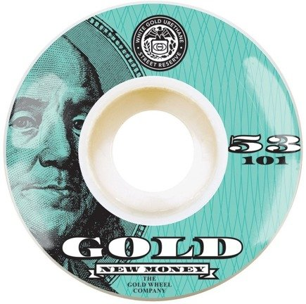 Kółka Gold Wheels - Money Team Green