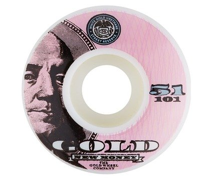 Kółka Gold Wheels - Money Team Pink