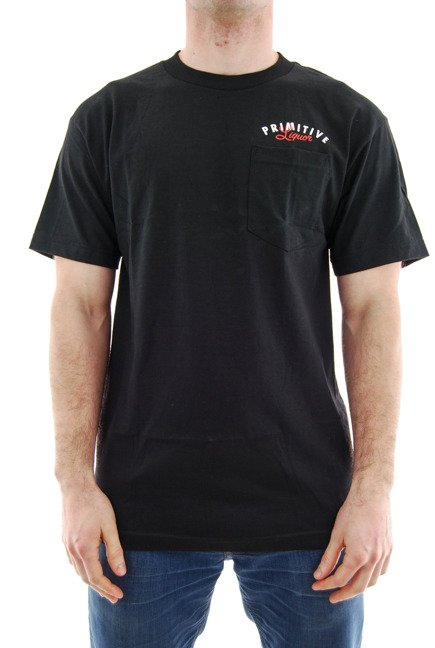 Koszulka Primitive - Always Open Champagne Pocket Tee Black