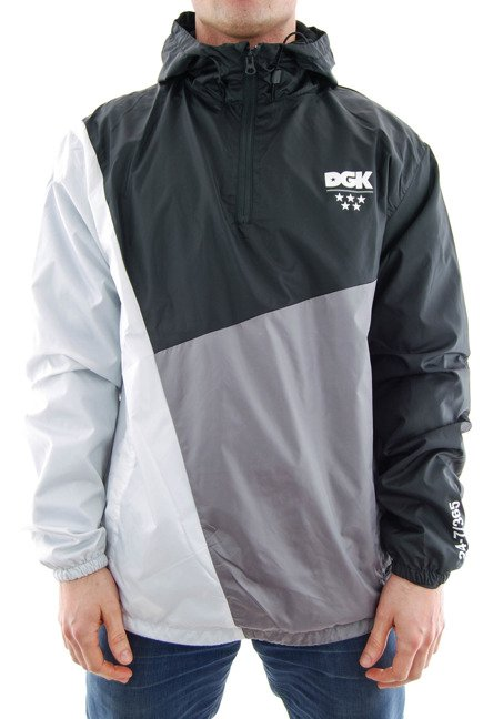 Kurtka DGK - Lenox Windbreaker Jacket Black