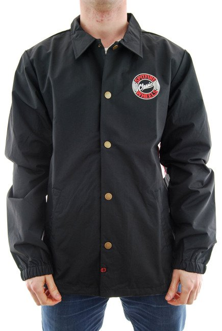 Kurtka Spitfire - Flying Classic Waterproof Coaches Jacket Black