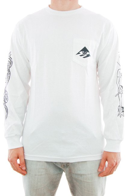 Longsleeve Emerica x Toy Machine - Toy White