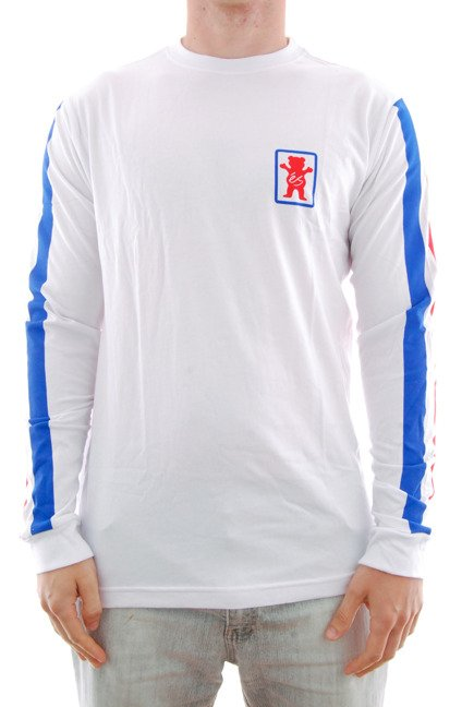 Longsleeve Es x Grizzly Racquet White